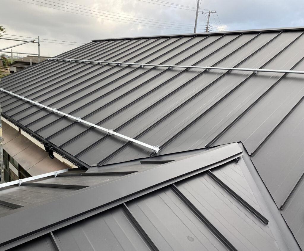 瓦屋根から金属屋根へ画像